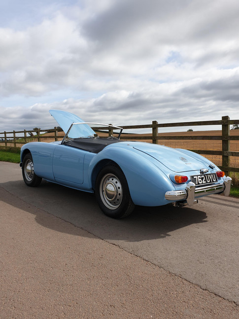 Complete MGA full body and chassis restoration
