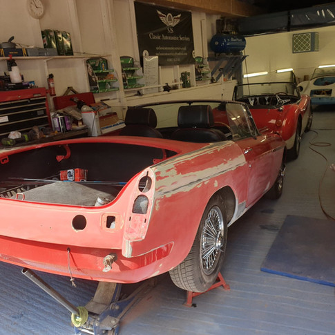 MGB Roadster Restoration