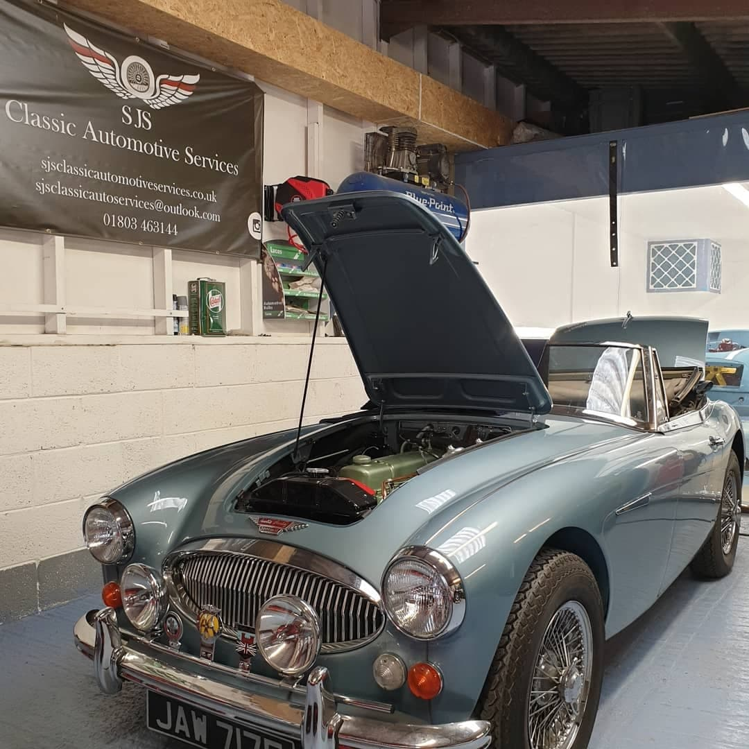 Austin Healey 3000 restoration