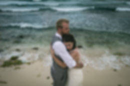Akumal Beach and Wellness Resort and Spa Wedding Trash the dress session