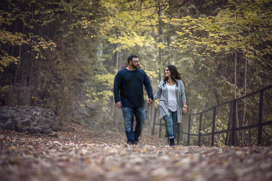 Toronto Engagement Belfountain Natalie Paivo Photography