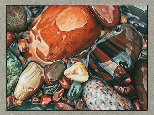 """Treasure Hunt"" 6 x 8 Giclee Print"