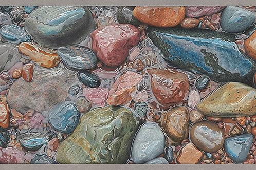 """Healing Rhythm"" Giclee Print 11 x 24"