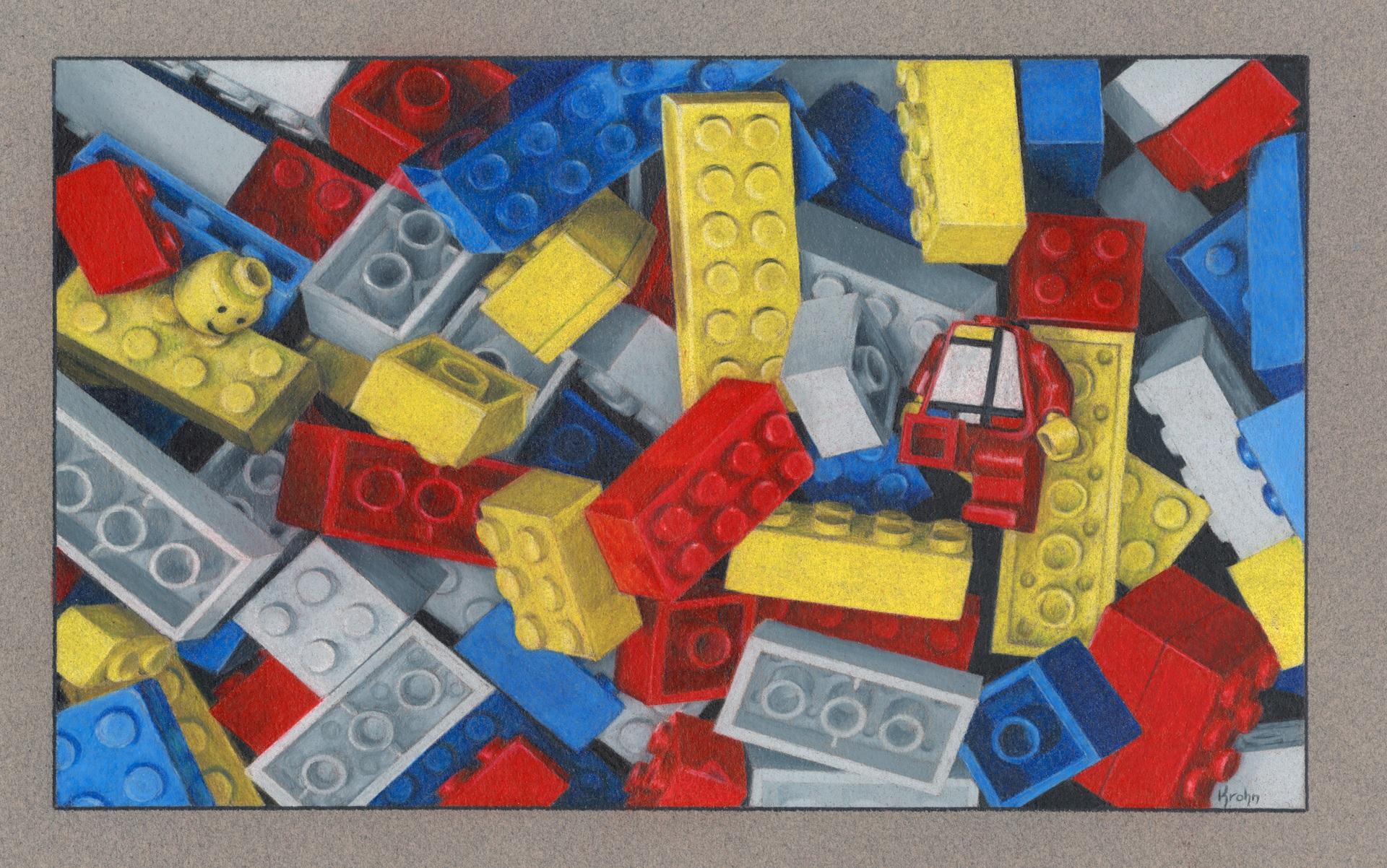 """""""Mondrian Lost His Head"""""""
