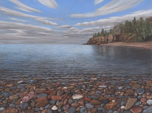 """Beside Still Waters"" 18 x 24 Giclee Print"