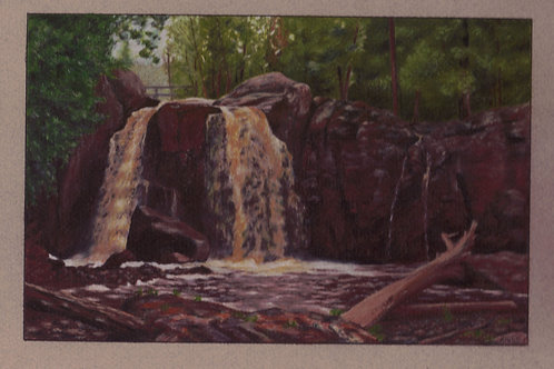 """""""Middle Falls"""" 6 x 9 Giclee Print"""