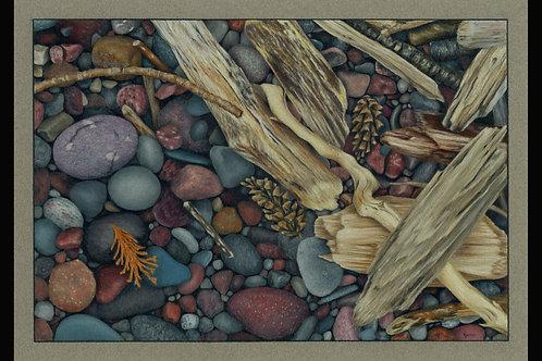 """Sticks and Stones"" 12 x 16 Giclee Print"