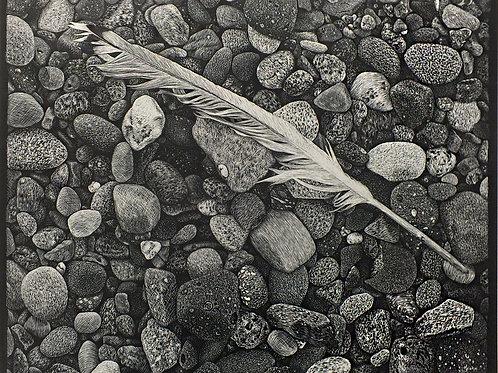 """""""Fallen"""" 11 x 14 Giclee Print"""