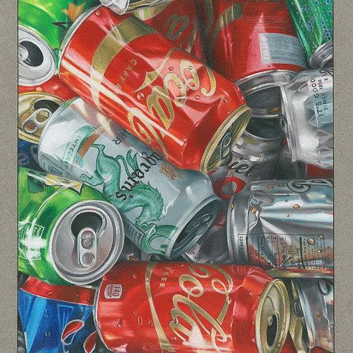 """Discarded"" 12 x 10.5 Giclee Print"