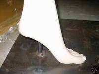 foot flange