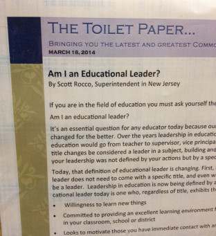 Bring PD to Teachers with The Toilet Paper