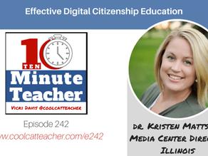 Chatting Digital Citizenship with Vicki Davis