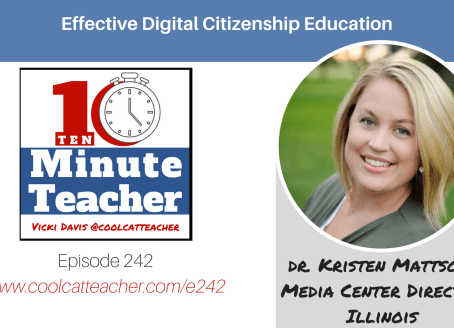 Chatting Digital Citizenship with Vicki Davis