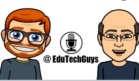Chatting with the EduTechGuys at #ICE19