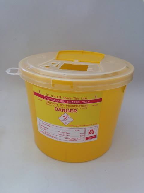 Sharps Container 5 Liter