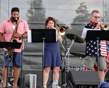 Horn Section with guest