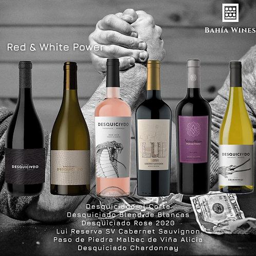 Box Red & White Power