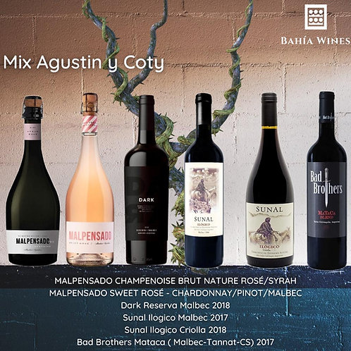 Box Mix Agustin y Coty
