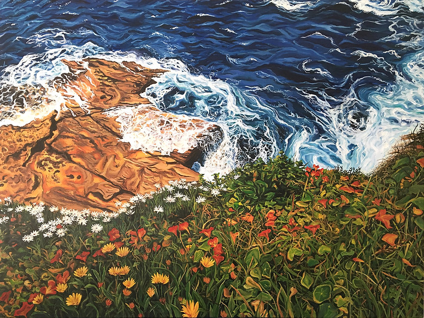 HIGH RES - Coastal Walks - 101 x 76cm (4