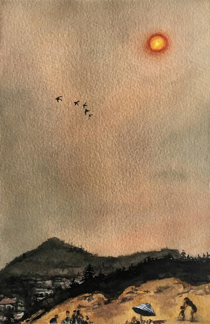 Isolation (fire)Sunset 6