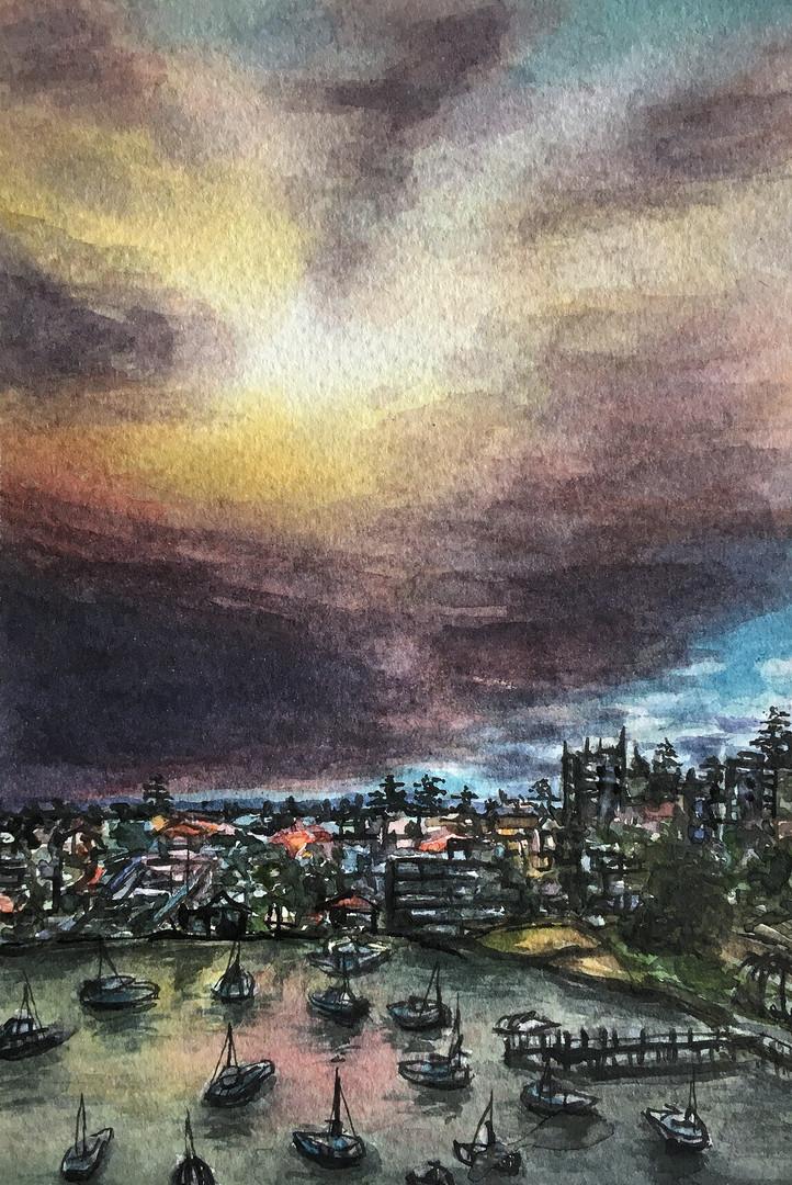 Isolation (smokey)Sunset 8