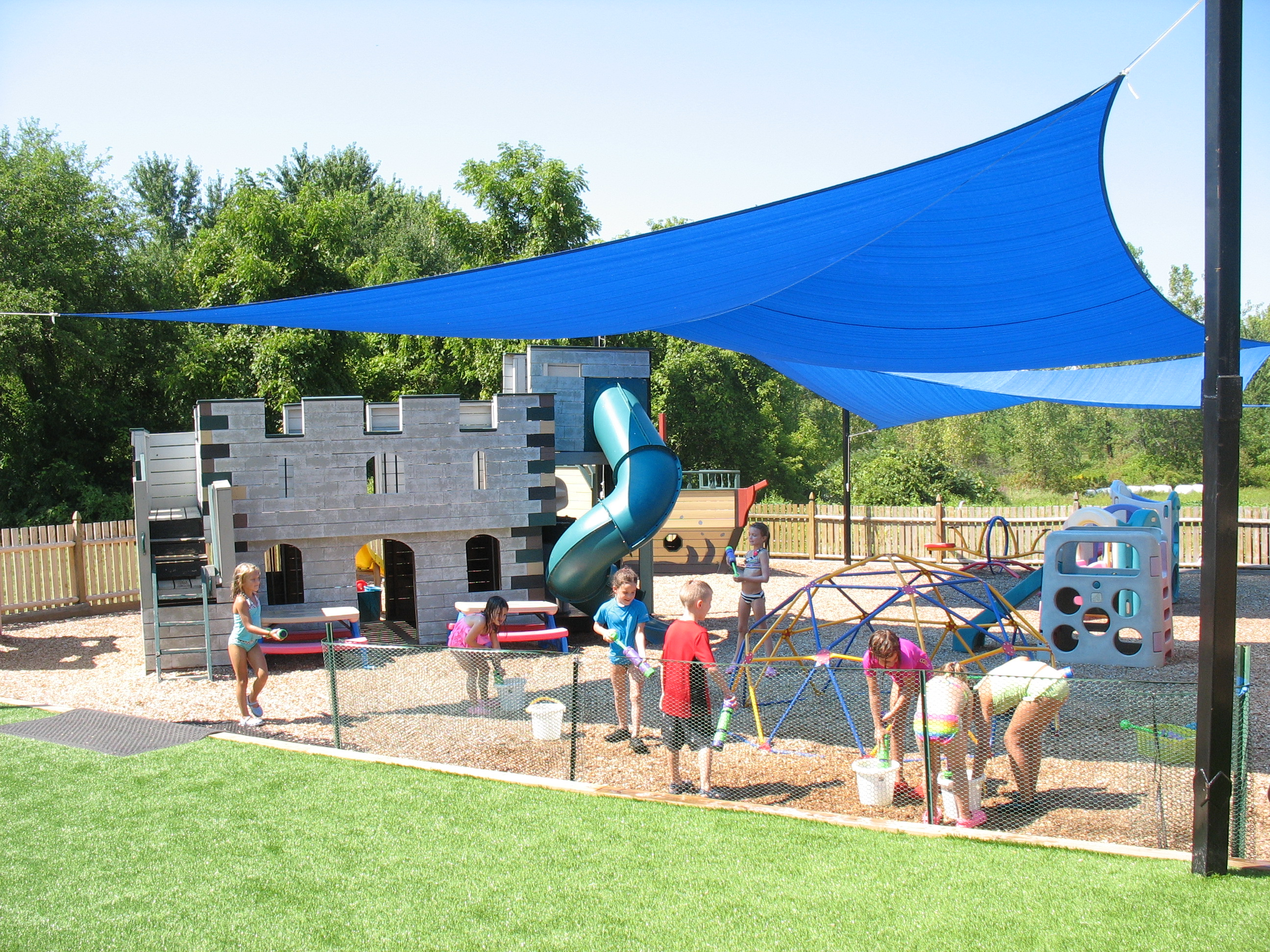 Shade structure with Conway's Kiddie