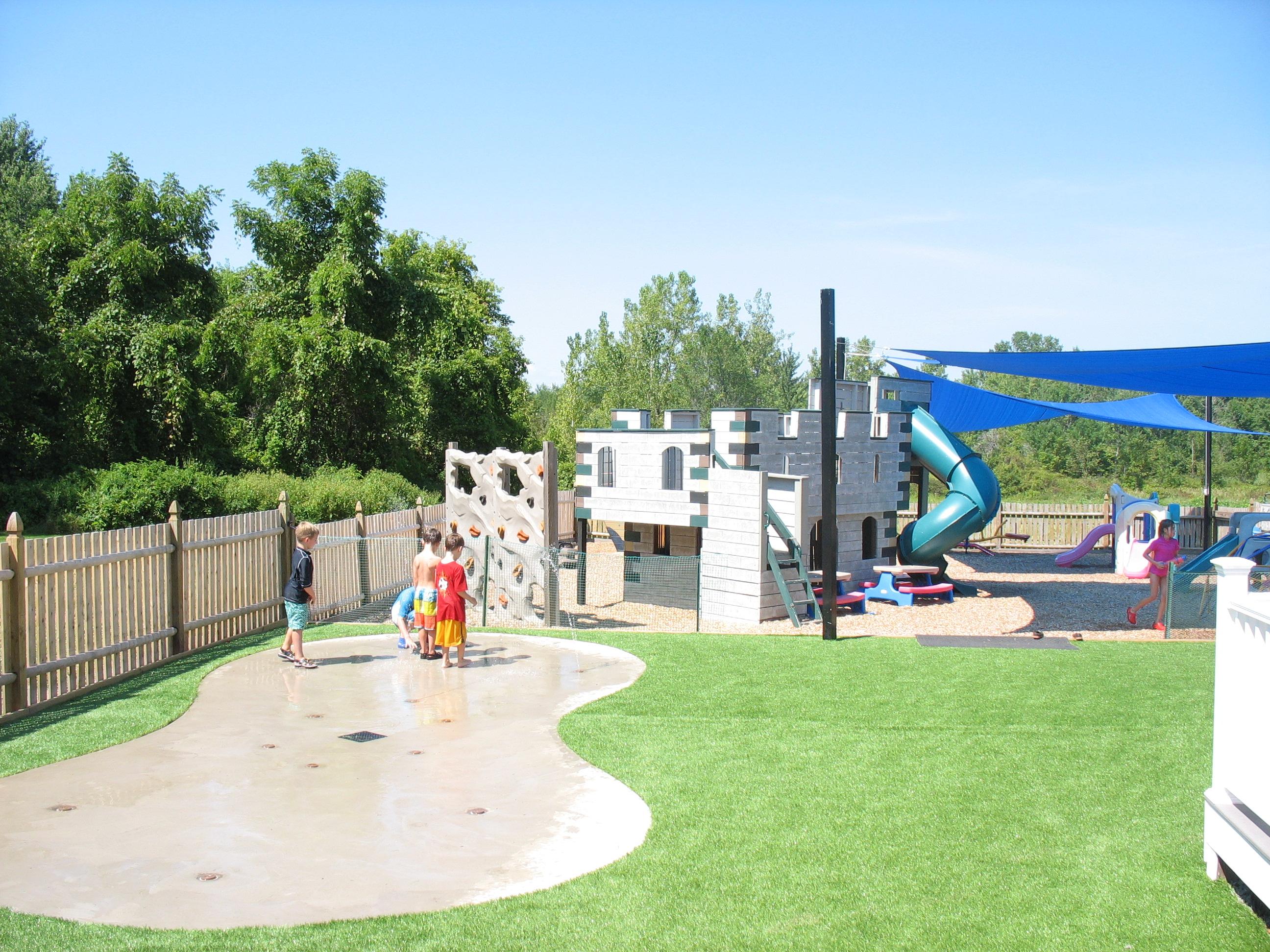 Splash Pad and Playground