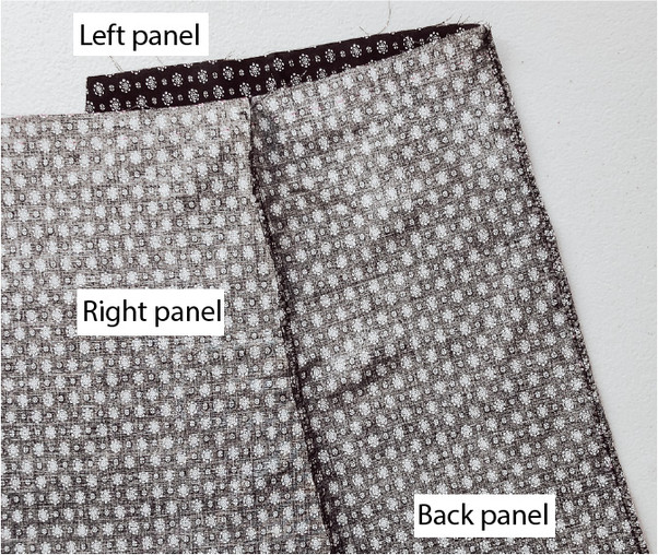 Left Panel Back Seam