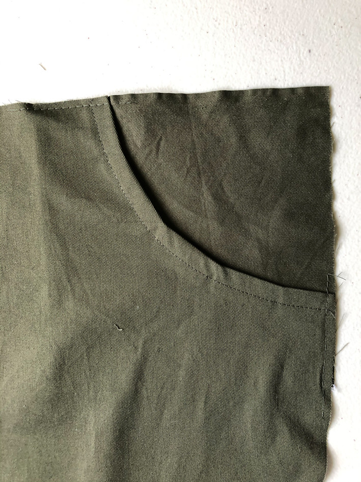 5. Curved Pockets & Side Seams