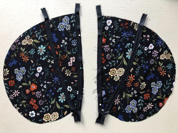 . Invisible Zipper Side Pockets & Side Seams