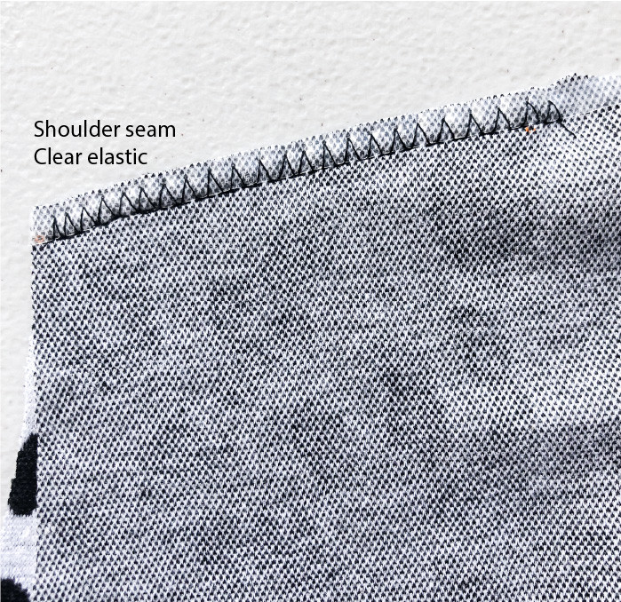 4. Shoulder seams