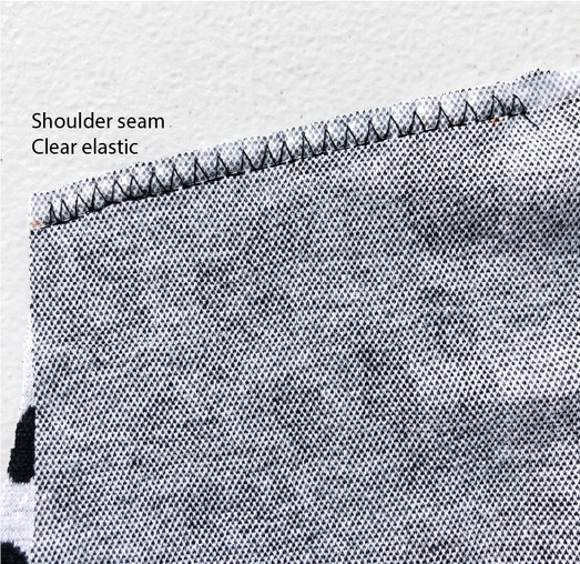 4. Shoulder seams