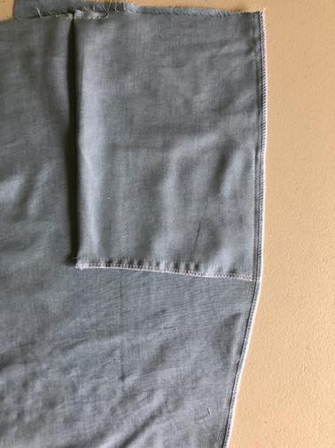4. Slant Pockets & Side Seams