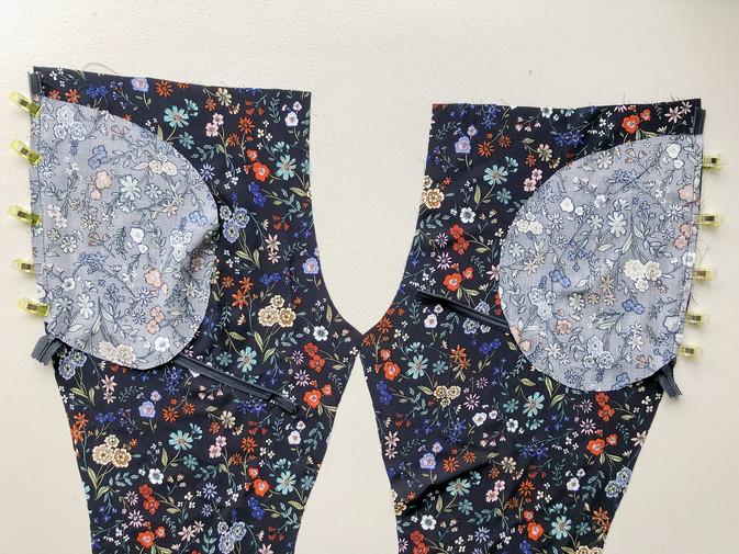2. Invisible Zipper Side Pockets & Side Seams