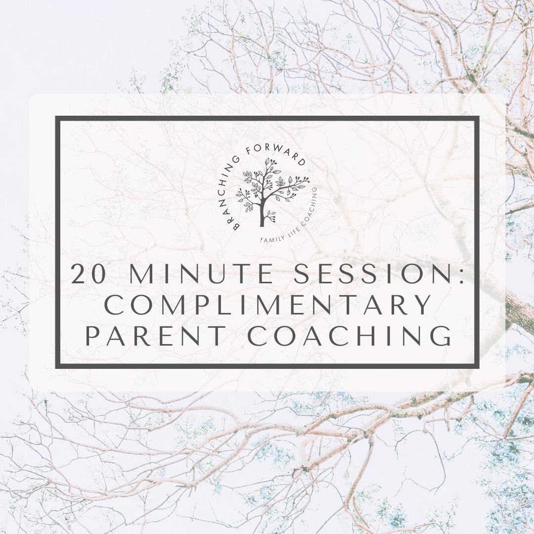 Complimentary Parent Coaching