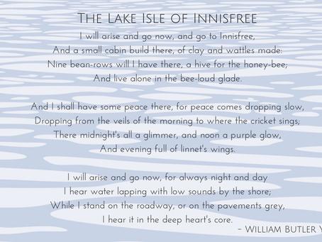 William Butler Yeats & The Lake Isle of Innisfree