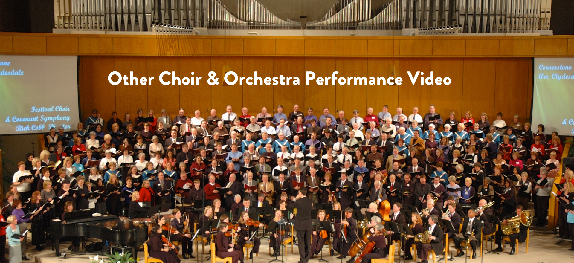 Other Choir & Orchestra Performance Vide