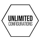 Photon LED Unlimited Configurations