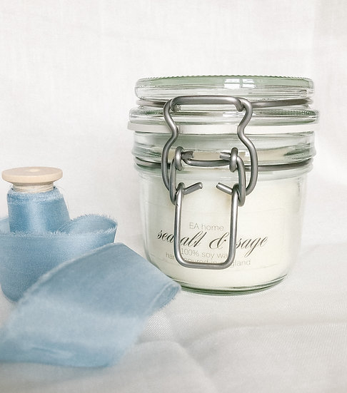 Sea Salt & Sage Signature Candle