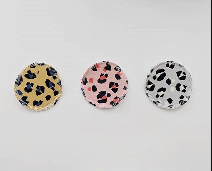 Leopard Print Reusable Face Wipes