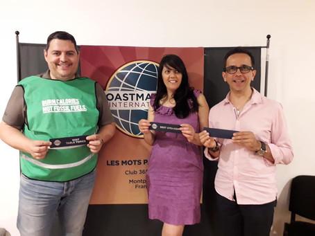 Ma visite du club Toastmasters Montpellier - Les Mots Passants