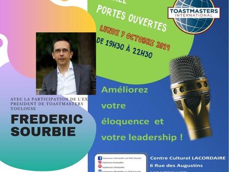 Une belle invitation du club Toastmasters Montpellier - Les Mots Passants