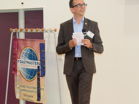 Les 10 ans du Club Toastmasters Toulouse Communication