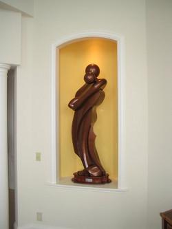 Life Size Commemorative sculpture