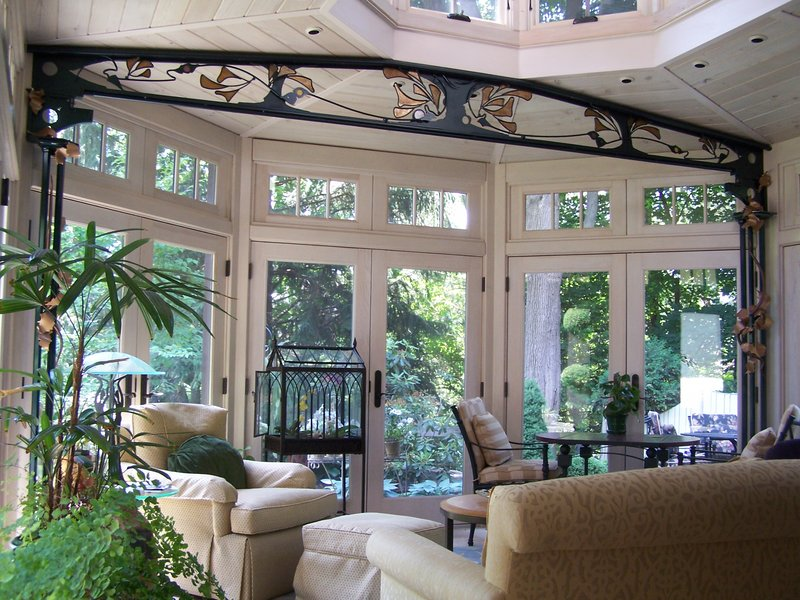 Decorative Ceiling Beams and Supports