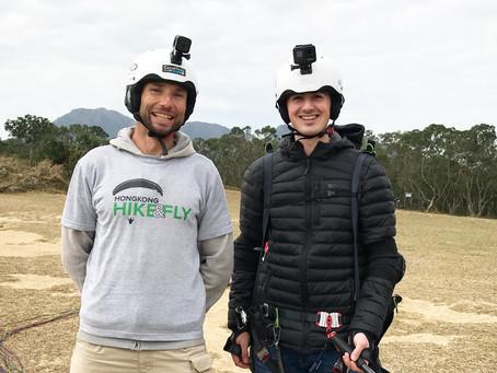 Paragliding Hong Kong