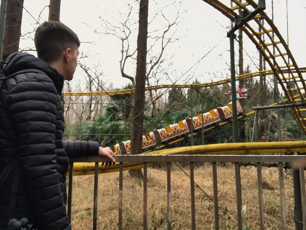 I had an entire theme park to myself