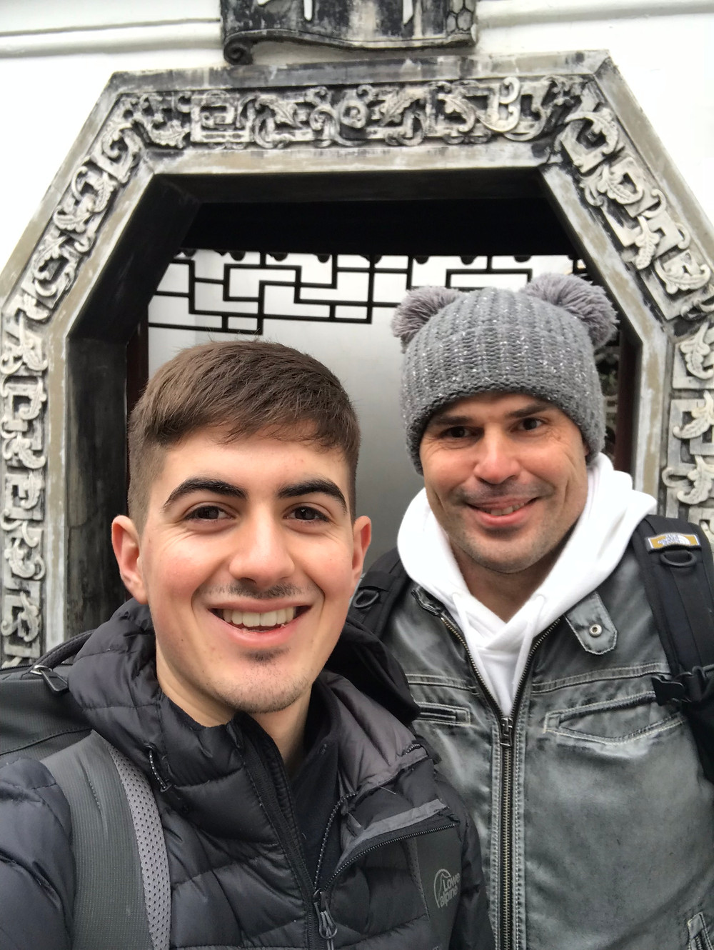 Temple Tours With My favourite Russian Friend and His Bobble Hat