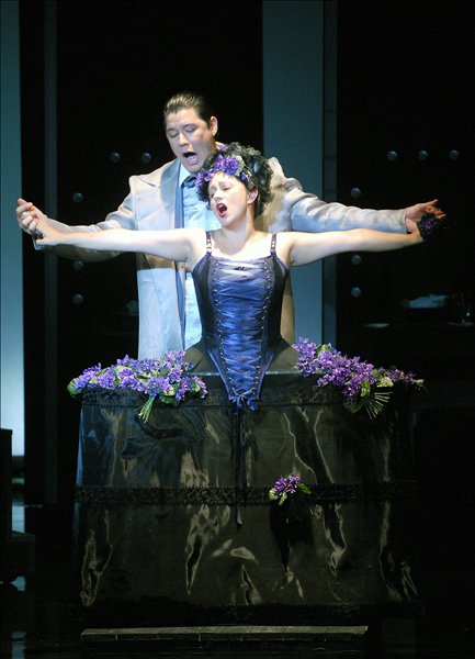 Act I, Adriana Lecouvreur