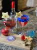 Red, White & Blue Sparkler Cocktail